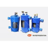 Wholesale Vertical Type Titanium Heat Exchanger In Refrigeration System For Cooling from china suppliers