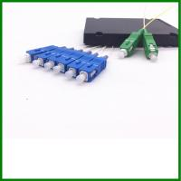 Wholesale Broadband Single Mode Fiber Coupler 2*6 Splitter With SC / APC - SC / UPC from china suppliers