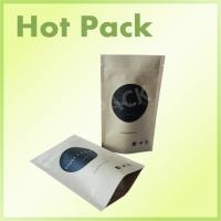 Wholesale Custom Printed Kraft Paper Stand Up Pouches For Coffee Bean / Protein Powder from china suppliers