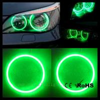 Wholesale Green 20x 130mm 156leds Bright COB Led Angel Eyes Halo Ring Light Headlight G156 from china suppliers