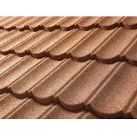 Wholesale Leak proof stone coated steel roof tile sheet metal Building Materials from china suppliers