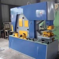 Quality Multifunctional Ironworker Machine with Punch, Shear, Cut, Bend and Notch on Metal Plate for sale