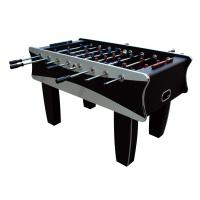 Wholesale Black / Silver Indoor 5FT Soccer Table MDF Football Table For Family 61 KG from china suppliers