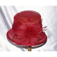 Wholesale Sinamay Hat with Flower from china suppliers