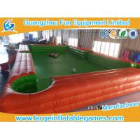 Wholesale 7.8*4.8m PVC Tarpaulin Inflatable Playground Billiards Football Portable Table Snooker from china suppliers