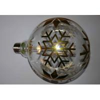 Wholesale G125 Art Laser Vintage Decorative LED Bulbs Map Tree Snow Christmas Bulb from china suppliers