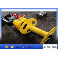 Wholesale Cable Pulling Gas Powered Winch Air Cooled Diesel Engine 840×600×500 from china suppliers