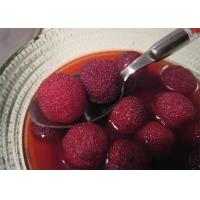 Quality New Season Canned Red Bayberry / Canned Waxberry Arbutus in light syrup for sale