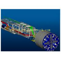Wholesale Slurry TBM used to maintain earth and water pressure balance on the tunnel face from china suppliers
