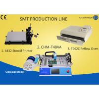 Buy cheap Desktop SMT Production Line Pick Place, Stencil Printing Machine T962C Reflow Oven from wholesalers