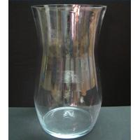 Buy cheap Wide Mouth Unique Glass Vase, Decal Logo from wholesalers