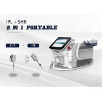 Wholesale Portable 2 In 1 Multi Function Laser 2 Handpiece E - Light/ IPL/ SHR/ OPT /RF Machine from china suppliers