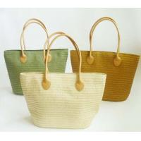 Wholesale Fashion Candy Straw Beach Bag,Summer Weave Woven Women Beach Tote Bags from china suppliers