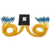 Wholesale 48 Core Fiber Optic Cable Accessories , Fiber PLC Splitter With FC SC ST Connector from china suppliers