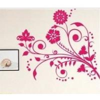 Wholesale Home Artificial Carving Contemporary Wall Flower Stickers G053 from china suppliers