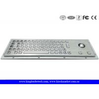 Wholesale Kiosk Keyboard with Pointing Devise Trackball made in Metal Stainless Steel from china suppliers