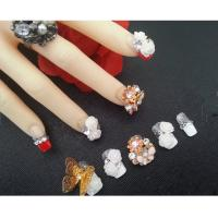 Wholesale Hot Summer Nail Art Design 3D False Nails Rhinestones / Gel / Acrylic from china suppliers