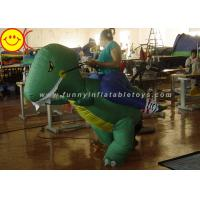 Wholesale Large Halloween Nylon Adult Inflatable Dinosaur Costume For Party Game from china suppliers