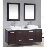 Wholesale Classical Double Sinks Wooden Bathroom Vanity (BL-S8105) from china suppliers