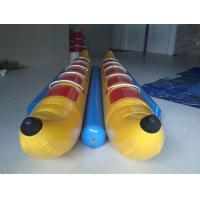 Wholesale 10 Seats Inflatable Toy Boat , Flyfish Boat PVC Inflatable Banana Boat for Water Game from china suppliers