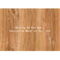 Wholesale MDF Skirting Board Cover Wood Grain Film Brown Color 500 Meters / Roll from china suppliers