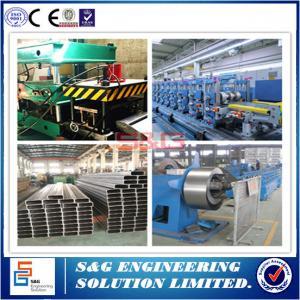 China 8.8 Grades Bolt  Light Gauge Steel Framing Machines , Shelf Crossbeam Roller Forming Machine on sale