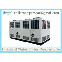 Quality 400KW Screw Type Industrial Air Cooled Water Chiller for Cooling Water for sale