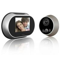 Wholesale Safe operation 3.5 inch screen digital door viewer with doorbell for muslim family from china suppliers