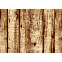 Quality Wood Pattern American Natural Style 3D Home Wallpaper With PVC Material for sale