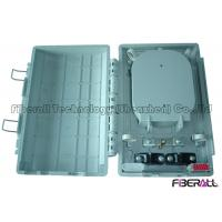 Wholesale Plastic Fiber Optic Terminal Box For Fiber Splicing With 2 Optical Cable Entries from china suppliers