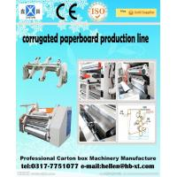 Wholesale Two Ply Corrugated Carton Packing Machine with Single Facer Production Line , 1600mm from china suppliers
