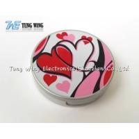 Wholesale Logo Printing Pocket Makeup Mirror Cosmetic Mirror With Sound from china suppliers