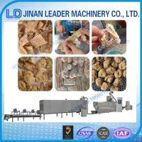 Wholesale Industrial textured soya protein snack food industry machinery from china suppliers