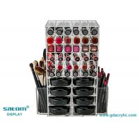 Wholesale Free Logo Clear Spinning Lipstick Holder Acrylic Make Up Storage Organizer Small MOQ from china suppliers