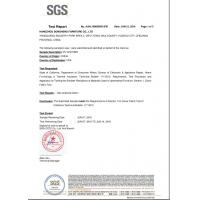 Hangzhou Dongheng Furniture Co., Ltd. Certifications
