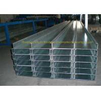Anti Corrosion Galvanized Steel Square Tubing Z Channel 50mm To 80mm Width