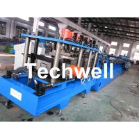 Wholesale C / Z Purlin Roll Forming Machine With Post Punching and Post Mould Cutting System from china suppliers