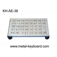 Wholesale Water proof Metallic Industrial Keyboards IP65 For Parking control system from china suppliers