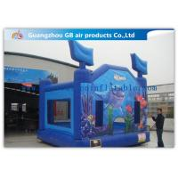 Wholesale Blue Ocean Commercial Inflatable Bouncy Castle Kids Jumping Castle For Amusement Park from china suppliers
