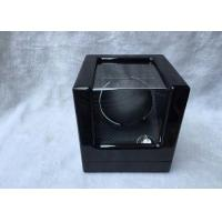 Wholesale Black Wood Gents Watch Storage Box With Velvet Pillow Insert , Logo Custom from china suppliers