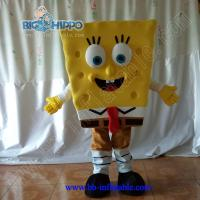 Quality Sponge bob mascot costume for sale