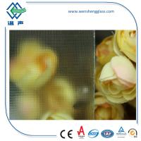 Wholesale Clear / Tinted Frosted Patterned Glass , translucent patterned window glass from china suppliers