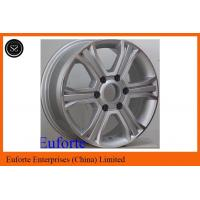Wholesale 16inch 6 Spoke 4 x 4 Off Road Wheels 6 x 130 Silver Machine Face SUV from china suppliers