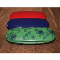 Wholesale Fashion Abs Plastic Kids Eyeglass Case Lightweight Black / Red With Velvet Lining from china suppliers