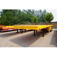 Buy cheap 3 axles 40 ft 60ft extendable flatbed truck trailer for sale from wholesalers