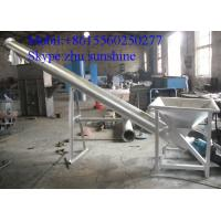 Quality Hopper Screw Conveyor, Stainless steel Inclined Screw Hopper Loader for sale