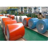 Wholesale Building Materials Cold Rolled Steel Sheet , Commercial Painted Aluminum Coil from china suppliers