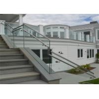 Wholesale High Quality Balcony Aluminum U Channel Glass Clamp Railing / U Channel Aluminium Profile for Glass Railing from china suppliers