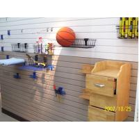 Wholesale PVC Storage Wall Panels for Shelves Slat Wall Panels for Display from china suppliers
