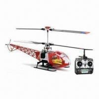 Wholesale 3-axis Gyro Flybarless Helicopter with Highly Efficient Brushed Motors from china suppliers